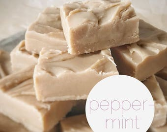 Custom Fudge, Peppermint Fudge BASE 400g for Fudge Box Factory create your own fudge