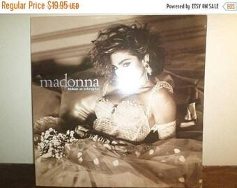 Save 30% Today Vintage 1984 Vinyl LP Record Madonna Like A Virgin Excellent Condition 10857