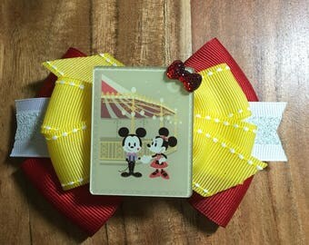 Dapper Mickey & Minnie Bow
