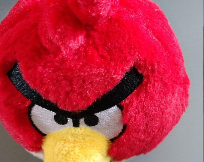 5 inch Plush Red Doll - Angry Birds
