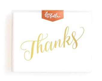 Thanks Greeting Card Boxed Set