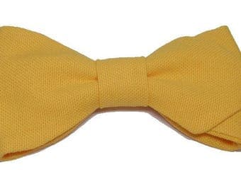 Bow with orange sharp edges