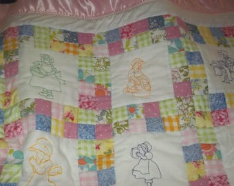 Baby or Toddler Girls  Quilt