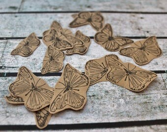 30 Butterfly die cuts