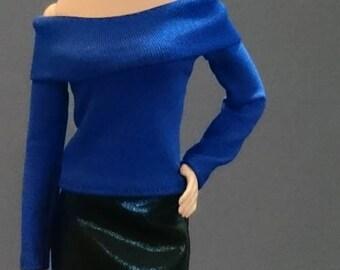 Tops for Barbie,Muse barbie,Tall barbie, FR, Silkstone -No. 0046