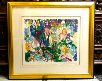 Leroy Neiman - Casino -Limited Edition Serigraph -Artist Proof -Hand Signed