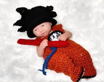 Dragon Ball Z Baby Outfit Dragonball Z Goku Outfit Dragon Ball Z Costume Vegeta Outfit baby boy Goku Outfit Vegeta Outfit newborn crochet