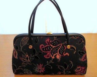 1960s Carpet Handbag/Purse
