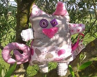 Pink cat - Alice's cat Plushie