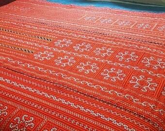 Bespoke tribal bedspread