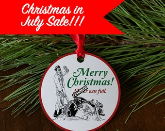 Merry Christmas Sh*tter was full, funny ornament, cousin Eddie, Christmas vacation, Griswold