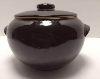 USA Pottery Bean Pot retro vintage pottery