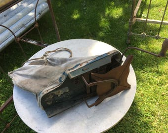 Antique Seeder, Walk and Seed, Works Great