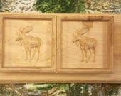 Pair of Moose Shelf Brack...