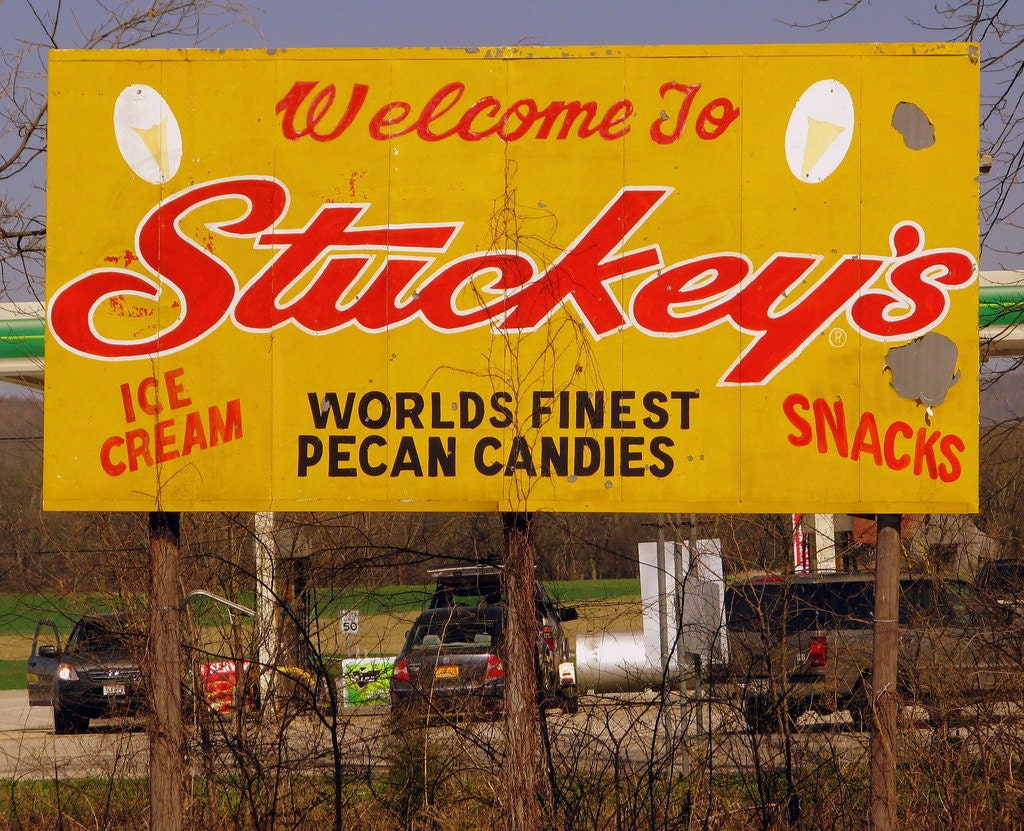 Stuckey Billboard
