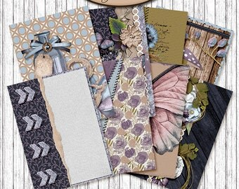 Dashboard B6, Travelers Notebook, Filofax, Daily Planner: Efflorescence A