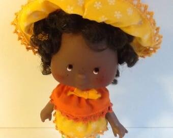 ORANGE BLOSSOM Vintage Strawberry Shortcake Doll