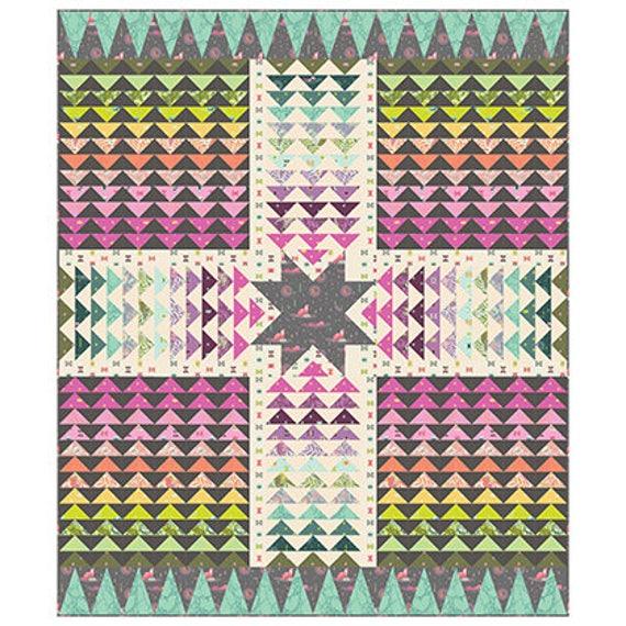 WAYFINDER Quilt Kit SPIRIT ANIMAL Fabrics by Tula Pink