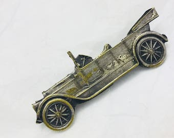 Antique Early American Automobile 1910's-1920's Pin/Brooch