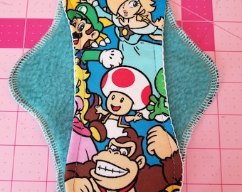 Super Mario Bros./Cloth Pad Day Time/8.5 inches Long/Light Flow