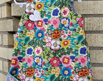 Classy /Sassy Reversible A-line Dress with Flipped Hem Option