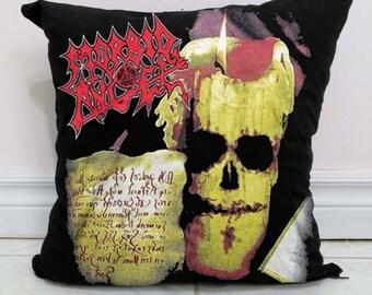 Morbid Angel Pillow DIY Death Metal Decor A3 - Made to Order