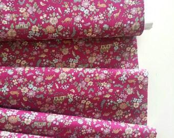 Memoire a Paris Cotton Lawn Fall 2017 - Cottage(Pink)- Lecien - Japan, Inc