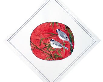 Painting Bulbul Birds