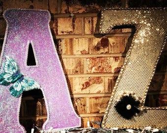 Decor Letters A & Z