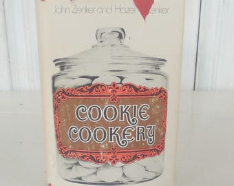 An Excellent Cookie Cookbook/Cookie Cookery by John & Hazel Zenker/1969/Pastry Chef/Gourmet/Hard to Find Recipes/lindafrenchgallery