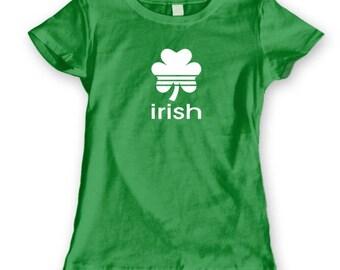Irish Sports Pride Ireland St Patricks Day Women's Jr Fit T-Shirt DT0432