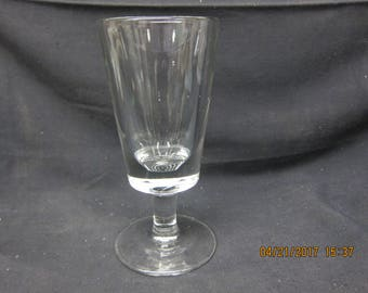 Large Pdestal Glass or Stein