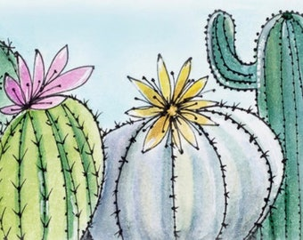 Cactuses -  Signed Limited Edition Print