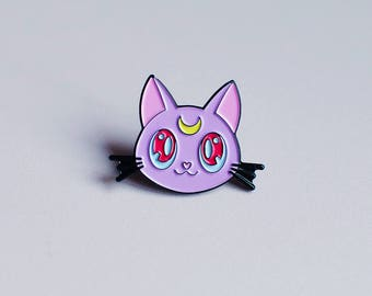 Diana Kitty Soft Enamel Pin (New Colours!)