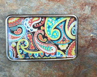 belt buckle bohemian belt buckle hippie belt buckle gypsy mens belt buckle women's belt buckle rectangle belt buckle earth tones ladies