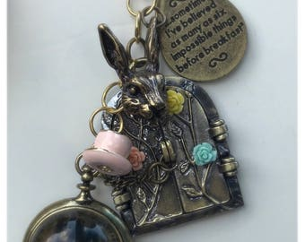 Alice in Wonderland Inspired Charm Bunch