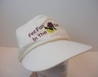 Fez Fun in the Sun hat cap 90s