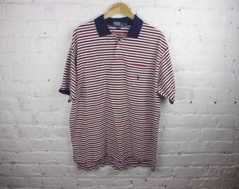 90s Polo Ralph Lauren Stripe striped shirt dad
