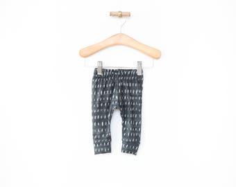 baby leggings, denim rain leggings, gender neutral baby clothes, newborn baby clothing, baby shower gift