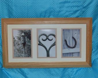 I Heart U Framed Print