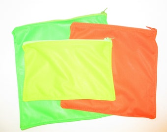 Extra Large, Large Size or SNACK Size Reusable Food Grade PUL Sandwich or Snack Bags  Large Bread