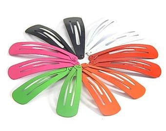supports 20 multicolored kids hair clips