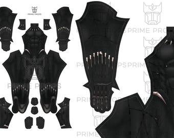 Black Panther Costume Pattern