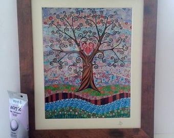 Tree of Life #19 Framed Print