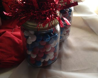 Gift jar candy