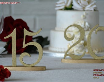 Table Number, Glitter SET 1-40, Table Numbers Gold, Table Numbers Silver, Table Numbers Wood, Table Numbers Rustic, Table Numbers Rustic
