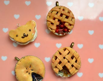 Homemade Cookie + Pie Charms