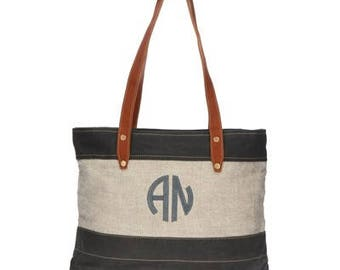 Heartstrings Personalized Lundy St  Tote