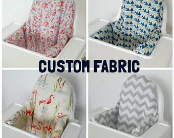 Custom Antilop IKEA highchair cushion cover - cushion cover only - various colours/patterns - Custom order - MADE to ORDER