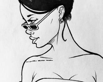 Rihanna (Red Carpet).